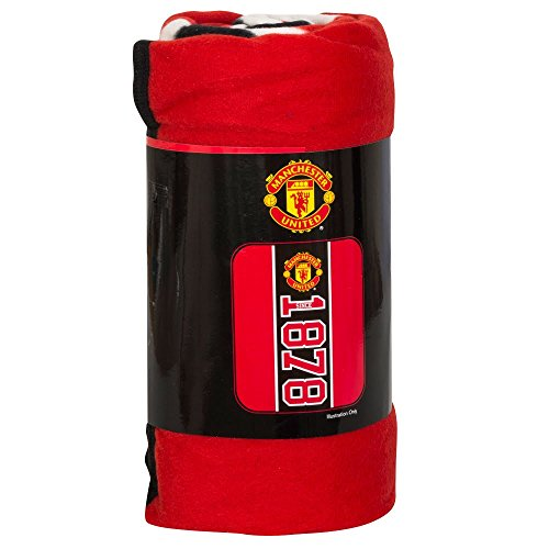 Fc Fleece Blanket - Manchester United FC Official Fleece Blanket 1878
