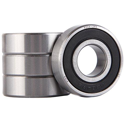 Open Peer Bearing 6204 6200 Series Radial Bearings 20 mm ID 14 mm Width PER   6204 47 mm OD