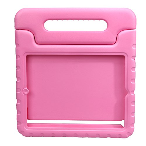 NEWSTYLE Apple iPad 2 3 4 Shockproof Case Light Weight Kids Case Super Protection Cover Handle Stand Case For Kids Children For Apple iPad 4, iPad 3 & iPad 2 2nd 3rd 4th Generation (Pink)