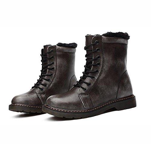 Mila Stivali Stivali Scarpe Retrò Nsxz Centimetri Di 90 Rubgray Uomini Autunno E E Nuove Cuoio 16 Donne Gli Invernali 1wwWEOPqxT