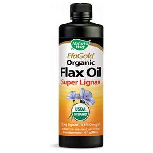 NATURE'S WAY FLAX OIL,SUPER LIGNAN, 16 FZ