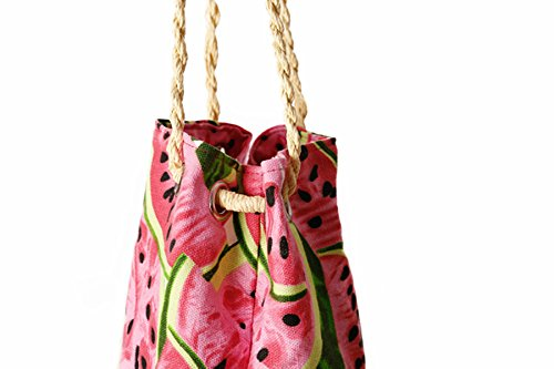 Pineapple Beach Beach Crossbody Holiday Watermelon Bags Bags Handwoven Summer Watermelon Butterme Women Straw for Bags Cute Shoulder FYwTxWUEWq
