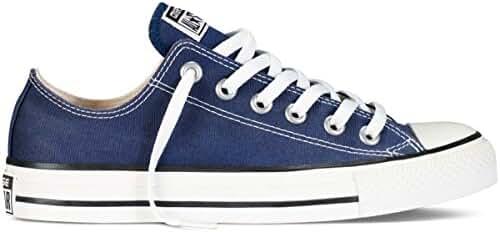 Converse Unisex Chuck Taylor All Star Ox Sneakers Navy M9697 (11.5 B(M) US Women / 9.5 D(M) US Men, Navy)