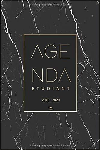 Agenda Etudiant 2019 2020: Calendrier 2019-2020 | Agenda ...