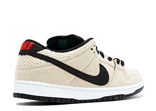 Nike Dunk Low Premium SB, Scarpe Sportive Uomo Bamboo, Black White