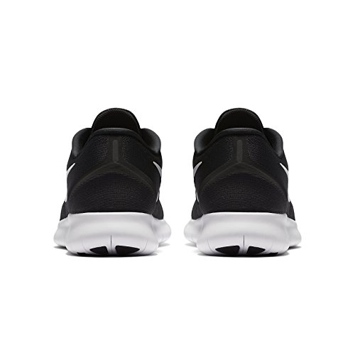 Nike Herren Free Run Black / White Anthracite -43 (EU)