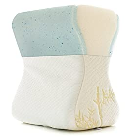 Milliard Cooling Gel Leg and Knee Pillow + Ultra Soft Removable Bamboo Cover