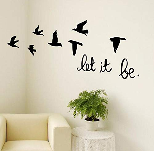 Dalxsh 3D Flying Birds Vinyl Wall Stickers for