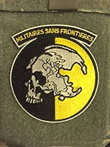 METAL GEAR SOLID PATCH MGS PEACE WALKER MILITAIRES