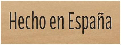 300 Etiquetas adhesivas kraft 2 x 5 cms HECHO EN ESPAÑA: Amazon.es ...