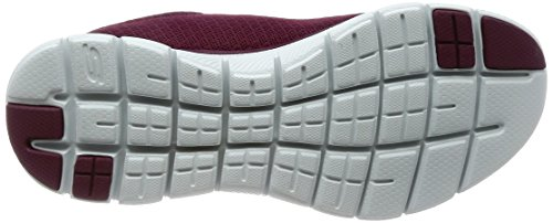 Entrenadores Rojo 0 Mujer para Flex Burgundy Newsmaker Appeal 2 Skechers wCAxfPXgq