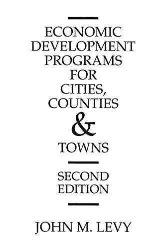 Economic Development Programs for Cities, Counties and...