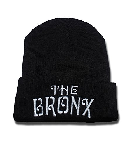 (The Bronx Punk Rock Band Logo Beanie Fashion Unisex Embroidery Beanies Skullies Knitted Hats Skull Caps)