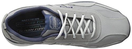 skechers GLIDES- STATUS - Zapatillas de deporte para hombre gris