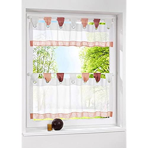 Country Kitchen Curtains Amazon Com: Sheer Cafe Curtains: Amazon.com