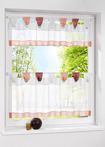 tab top kitchen curtains - 8