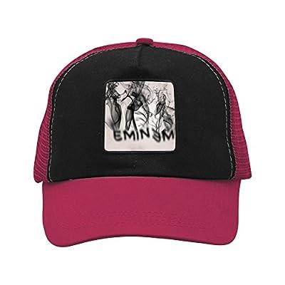 CAHAFun Unisex Adults Eminem Snap Back Trucker Hat Mesh Cap