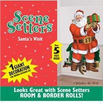 Partyrama Santa Father Christmas Scene Setter Add-On ()