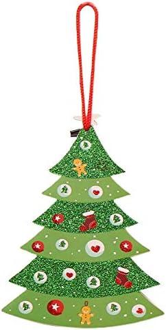 MA87 2019 - Tarjeta de felicitación navideña para árbol de Navidad ...