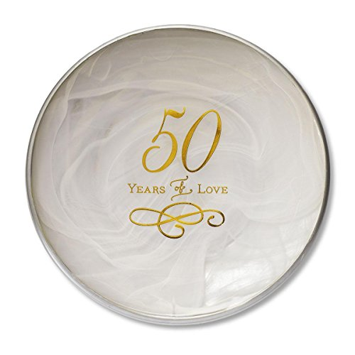 DEMDACO 50th Anniversary Decorative Plate