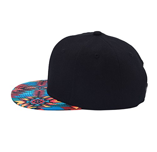 3b16cb8f6da Vegali Fashion Cool Adjustable Snapback Hip-hop Golf Baseball Cap Hat Unisex  (C124-