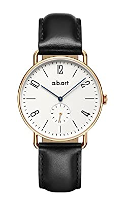abart FN36-001 Lady Women Clear Dial Rose Gold Case Watches for Women by a.b.art