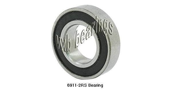 6911-2RS Bearing Deep Groove 6911-2RS Ball Bearings