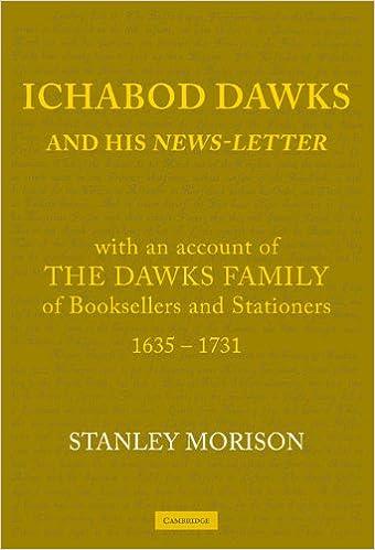 Ichabod Dawks and his Newsletter Paperback: Amazon.es: Morison: Libros en idiomas extranjeros