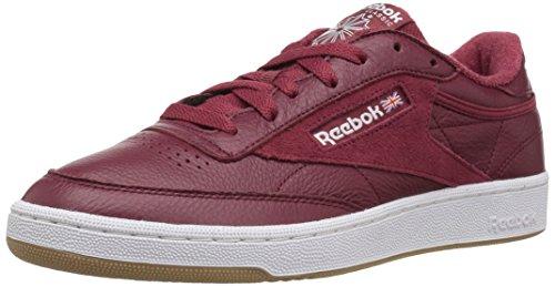 ReebokCLUB C 85 Estl - Club C 85 Estl Herren Urban Maroon/White/Washed Blue Gum