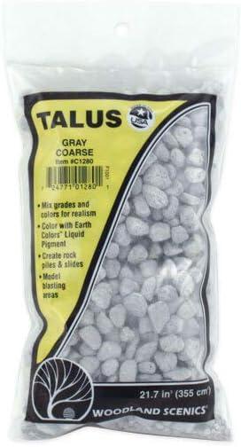 Coarse Talus 21.7 Cubic Inches-Gray