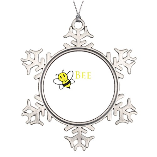 Xmas Trees Decorated Bee Free Inspirational Design Santa Christmas Snowflake Ornaments Modern, fun bee ornaments for christmas