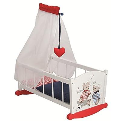 Roba 98835 - Accessoire Pour Marionnette - Dolls Cradle