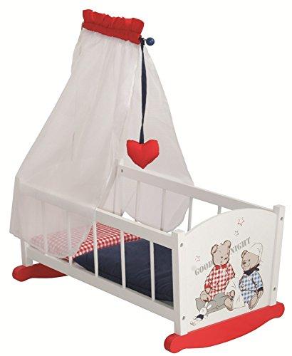 Roba - 98835 - Accessoire Pour Marionnette - Dolls Cradle Roba Baumann Gmbh