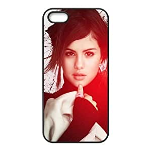 Custom Personalized Selena Gomez Back Cover Case TPU for iphone5,5S JN5S-930 wangjiang maoyi