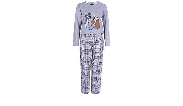 Pijama La Dama y el vagabundo Disney, Estampado de Cuadros ...