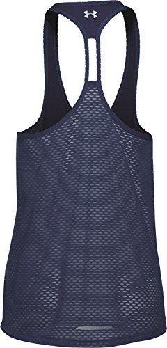 Fly Sin De Talla L Kurzarm Para Camiseta Azul Armour Mesh By Mujer Shirt Under Color Stretch Running Tank Mangas 7Igwv