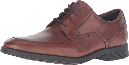 Rockport Men's Dressports Business Apron Toe Oxford New Brown Leather 11.5 M by Rockport