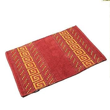 Amazon De Mocha Design Badteppich Orientalisch Aus Baumwolle