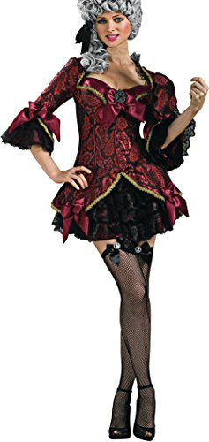Secret Wishes Women's Lady Versailles Adult Costume, Multicolor, Small
