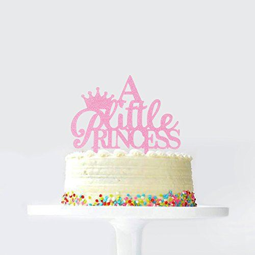 A Little Princess Crown Birthday Cake Topper Baby Shower Gender Reveal Party Decoration Favorse For Decorations