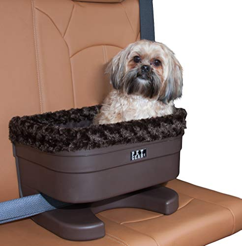 Pet Gear Booster Seat for Dogs/Cats, Removable Washable Comfort Pillow + Liner, Safety Tethers...