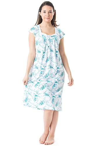 Casual Nights Womens Sleeve Nightgown
