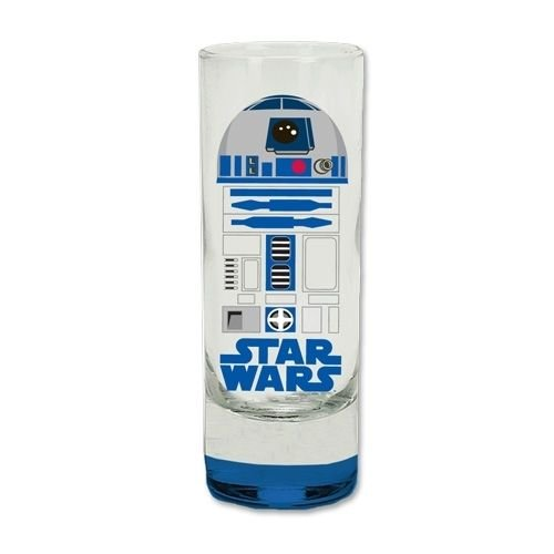 R2D2 Colored Bottom Collection Glass Toothpick Shot Glass Shotglass