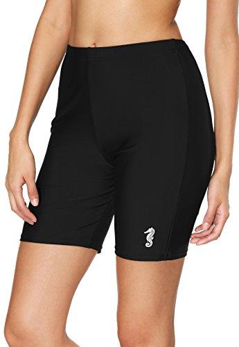 beautyin Ladies Tankini Bottom Womens Long Bathing Suits Shorts Color Block 2XL -