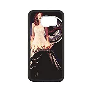 Samsung Galaxy s6 Black Cell Phone Case The Hunger Games Phone Cases Clear
