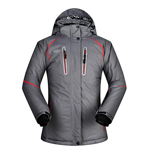 En Air Manteau Femme Ski Plein Grey Pour De Imperméable Veste D'extérieur XwCz0qWx