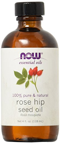 Rose Hip Seed Oil - NOW Solutions Rose Hip Seed Essential Oil, 4-Ounce