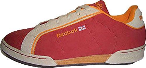 Reebok NPC Stripes II Retro Spice Red/Paperwhite/naranja 163888tamaño euro 37,5/US 7/UK 4,5/24cm