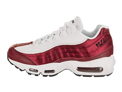 Max Lx black Femme Wmns Basses Crush Multicolore Crush red red Sneakers white Air 001 Nike 95 EIqpp