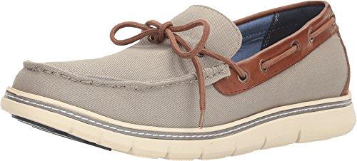 Tommy Hilfiger Men's Fern Shoe, Grey, 9.5 Medium - & Grey Fern